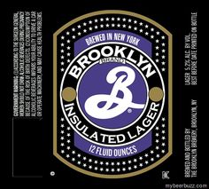 mybeerbuzz.com - Bringing Good Beers & Good People Together...: Brooklyn - Insulated Lager