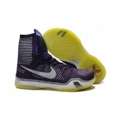 df94979a554 The cheap Authentic Nike Kobe 10 Elite Team Ink Persian Violet Volt Reflect  Silver Shoes factory store are awesome pair of shoes but it seems the super  high ...