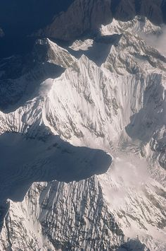 Aerial view of the mountains of eastern Tibet