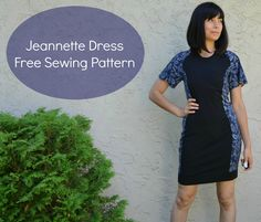 Free Sewing Pattern: The Jeannette Dress