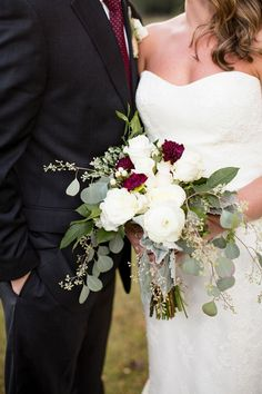 Gorgeous fall colors and some of the prettiest details make this outdoor wedding in Virginia a must-see.