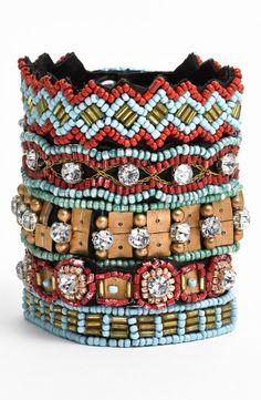 Cara Couture Embellished Cuff Bracelet - Nordstrom