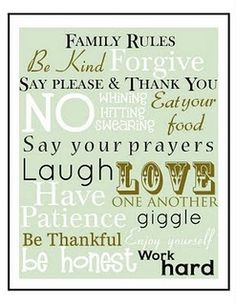 5 Best Images of Free Printable Family Rules Subway Art - Free Family Subway Art Printable, Free Printable Family Word Art and Family Values Subway Art Printable Family Rules Printable, Free Printable Art, Free Printables, Printable Recipe, Great Quotes, Quotes To Live By, Me Quotes, Inspirational Quotes, Family Quotes