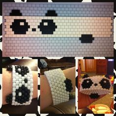 Panda kuff inspired by Meely Moo version 2....I know a little princess that would love this!