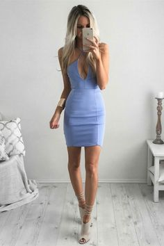 blue homecoming dresses,tight homecoming dresses,criss cross homecoming dress,halter homecoming dresses
