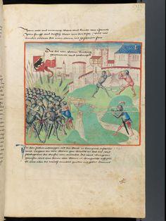 Bern, Burgerbibliothek, Mss.h.h.I.1, f. 239 – Diebold Schilling, Amtliche Berner Chronik, vol. 1
