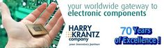 Harry Krantz is the best electronic component suppliers in the USA which fulfill your needs and requirement with same day delivery.