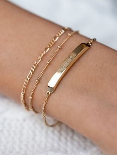 Classic Gold ID Bar Bracelet Classic Gold ID Bar Bracelet – Edge of Ember . - Classic Gold ID Bar Bracelet Classic Gold ID Bar Bracelet – Edge of Ember This image has get - Cute Jewelry, Jewelery, Silver Jewelry, Silver Ring, Hippie Jewelry, Turquoise Jewelry, Diy Jewelry, Cute Bracelets, Bangle Bracelets