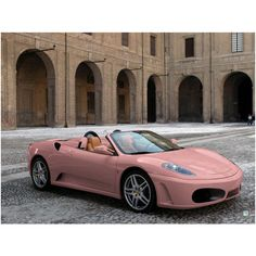 pink porsche ❤ liked on Polyvore featuring cars, pictures, backgrounds, photos and pink