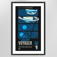 The Voyager program holds the record for most celestial bodies observed in a single mission and also claims the first man-made interstellar object.