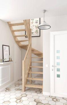 Small Space Staircase, Modern Staircase, Staircase Design, Staircase Ideas, Escalier Design, Loft Stairs, Tiny House Stairs, House Staircase, Tiny House Loft