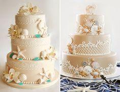 Selecionamos 14 bolos com tema praia para complementar a decoração das festas de 15 anos com essa temática! Vem ver nossa seleção!