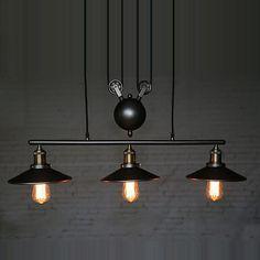 Vintage-Pulley-Pendant-Loft-Ceiling-Light-Hanging-Lamp-Artistic-Lighting-Fixture