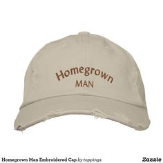 Homegrown Man Embroi