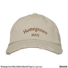 Homegrown Man Embroi