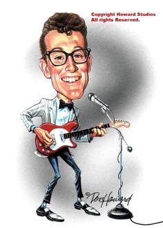 Buddy Holly  (by Don Howard)