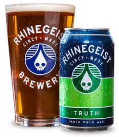 Rhinegeist Truth (IPA) Aroma is piney and citrusy hops. Taste is nicely balanced with some earthy hops. Overall very good, not overpowering.