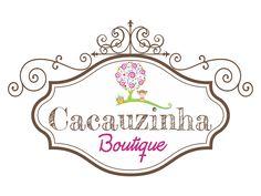 Logo criada para a Cacauzinha Boutique. https://www.facebook.com/cacauzinha.boutique