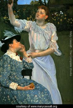 Young Women Picking Fruit - Mary Cassatt - www.marycassatt.org