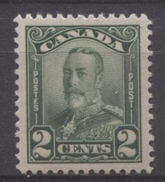 The 2c deep green Scroll Issue stamp of 1928. This paid the local rate of postage for a letter weighing less than 1 ounce.