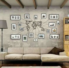 Awesome! Travel Wall!