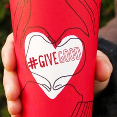 Here's to celebrating the good in each other. #GiveGood #RedCups