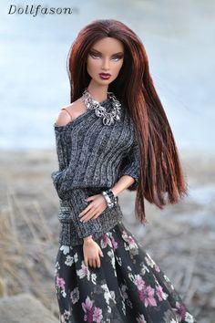 "My handmade doll`s outfit. Наряд для кукол моей работы. Коллекция ""Хмурый март"" №1"