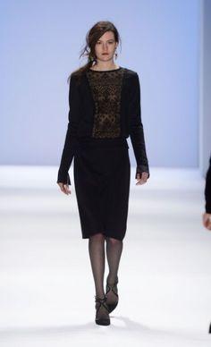 Mercedes-Benz Fashion Week : Fall 2013  Modern Day Mary Crawley