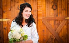 Salt Lake City, UTAH wedding photographer - candid bridal portrait
