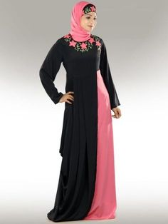 Stylish designer abaya collection for middle east women (8)
