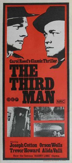 THE THIRD MAN | STAGE/FILM/RADIO/TELEVISION | Pinterest