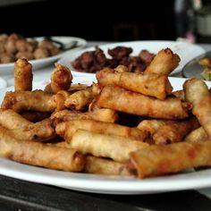 Street food 3: Nem, meat and vegetable rolls