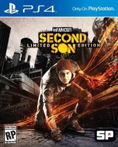 inFAMOUS Second Son Limited Edition - PlayStation 4,$59.96
