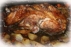 Los Pucheritos de Mohi: Paleta de cerdo al estilo de Jamie Oliver