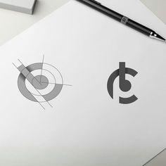 CPB negative space proposal to client by lelevien logo minimal typography Typography Logo, Art Logo, Corporate Design, Branding Design, Icon Design, Web Design, Identity, Logo Minimalista, Negative Space Logos