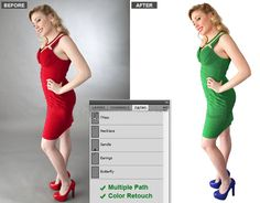 As we know that photograph #colorcorrection is very important in every sector especially in E-commerce site because they need to show different types of photograph color on their site to attract customer attention.