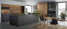 contemporary kitchen interior Why You Should Remodel Your Kitchen to a Modern Kitchen European Kitchens, Luxury Kitchens, Home Kitchens, Modern Kitchens, Fitted Kitchens, Kitchen Modern, Timber Kitchen, Dream Kitchens, Black Kitchens