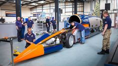Bloodhound land speed record bid delayed until 2017 - BBC News
