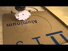 Cutting Leather With The Donek Drag Knife mounted in a Shopbot cnc router - YouTube
