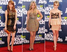 Looks das famosas no MTV Movie Awards 2011 - Moda - CAPRICHO