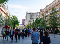 """https://flic.kr/p/tRrkoF   Walking Mother Teresa Boulevard - Pristina, Kosovo   All Images © 2015 Paul Diming - All Rights Reserved - Unauthorized Use Prohibited.  Please visit <a href=""""http://www.pauldiming.com"""" rel=""""nofollow"""">www.pauldiming.com</a>!"""