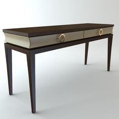 Console Contemporary Table Interiors 3D Models