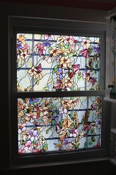 W X 36 In. H Spanish Garden Decorative Window Film | Window Film, Spanish  And Window
