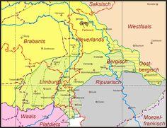 Kleverlands in relatie tot naburige dialecten