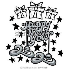 Font Design Happy New Year 2020 เวกเตอร์สต็อก (ปลอดค่าลิขสิทธิ์) 1579951720 Happy New Year Vector, Happy New Year 2020, Font Design, Image, Art, Art Background, Kunst, Performing Arts, Art Education Resources