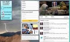 #Twitter's new #iPad app profile