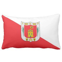 State Flag Of #Tlaxcala ( #Mexico ) Pillows