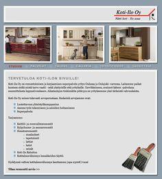 Koti-Ilo http://www.koti-ilo.fi/etusivu.php #nettisivut #kotisivut