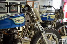 Tom White's Early Years of Motocross Museum in Southern California houses one of the largest and most impressive vintage motocross motorcycle collections in the World.