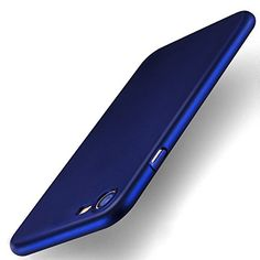 iPhone 7 Case TORRAS Ultra Slim Fit Shell Hard Plastic Full Protective AntiScratch Resistant Cover Case for iPhone 7  Navy Blue >>> Visit the image link more details.